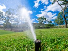 Watering via Irrigation and Sprinkler systems now has to be very water efficient due to water shortages. This is an example of very effective watering whilst being very efficient by using a minimal amount of water.