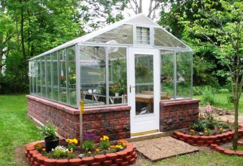 садовая теплица из поликарбоната цена